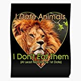 Animal I is Lion Animals Vegetarian Meat Murder Vegan Dont