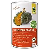 Raab Vitalfood Bio Kürbiskern-Protein Pulver, reines Proteinpulver mit 59% Eiweiß, aus biologischem Anbau Österreich, vegan, laborgeprüft, 500 Gramm