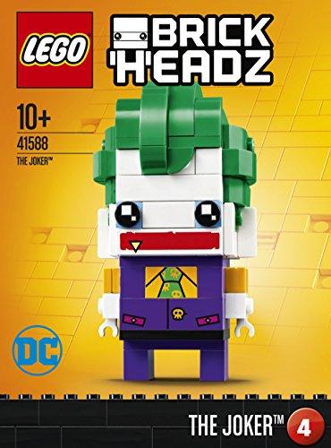LEGO Brickheadz - The Joker, Figura de Juguete del Villano Enemigo de Batman (41588) 3