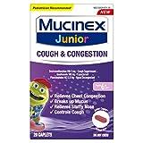 Best Cough Expectorants - Nasal Decongestant, Cough Suppressant & Expectorant, Mucinex Junior Review