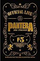 Pantera ポスター 101 Proof Band Logo 新しい 公式 70Cm X 106Cm Textile Flag