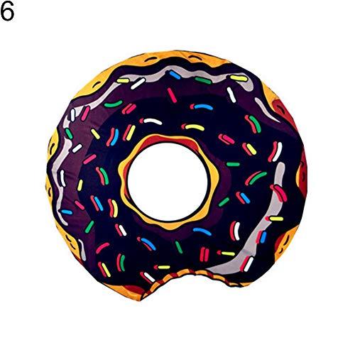 wefwef Toalla De Playa,Donuts Fruit Pattern Toalla De Playa Lavable Secado Rápido Al Aire Libre Portátil Picnic Mat Manta Suave Decoración Viaje Verano Camping Playa Toalla Mat Manta
