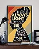 BEST Amanda Gorman The Hill We Climb Poster -...