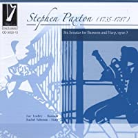 Stephen Paxton: Six Sonatas for Bassoon and Harp, opus 3 by Loubry (2008-06-24)