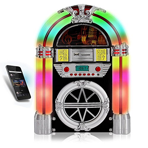 Pyle PJUB25BT Bluetooth Jukebox