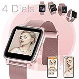 Zoom IMG-1 hommie smartwatch donna acciaio orologio