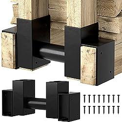 commercial Amagaberi 2 pack firewood holder firewood shelf outdoor fireplace wooden storage shelf wooden stacking holder… rackit lumber rack