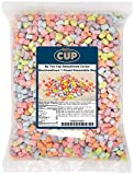 By The Cup Assorted Dehydrated Cereal Marshmallow Bits 1 Pound Bulk