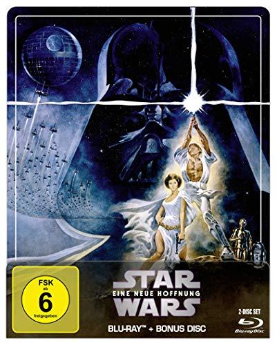 Star Wars: Episode IV - Eine neue Hoffnung - Steelbook Edition [Blu-ray]