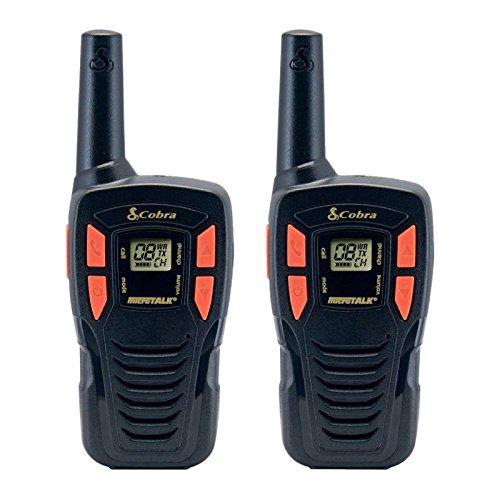 Conjunto Kit 2–Walkie-talkie (emisor y receptor PMR Cobra Alcance 5km carga USB