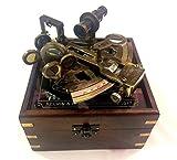 Instrumentos náuticos vintage sextante astrolabio instrumentos náutico