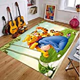 Carpet Bedroom Living Room Rectangle Cartoons Anime Winnie The Pooh Hallway Children Game Rugs Home Decoration Floor Runners Personality Anti-Slip
