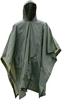 Style It Up Ltd Adults Emergency Waterproof Rain Coats Ponchos Hiking Camping Fishing Festivals