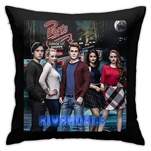 Not Applicable My Riverdale Poster Home Decorative Throw Pillow Cases For Sofa Couch Cushion Covers 18x18 Inch