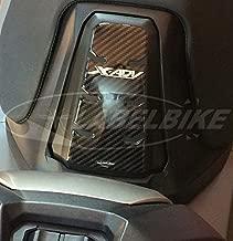 PARASERBATOIO ADESIVI gel 3D CARBONIO SERBATOIO Compatibile per MOTO BMW GS ROSSO