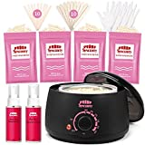 Best Home Waxing Kits - Syncerity Wax Warmer Hair Removal Waxing Kit Review
