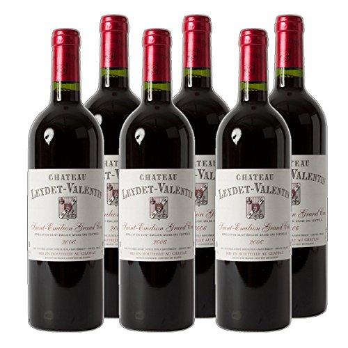 Château Leydet-Valentin - St. Emilion Grand Cru AC Rotwein Bordeaux Frankreich 2016 trocken (6x 0.75 l)