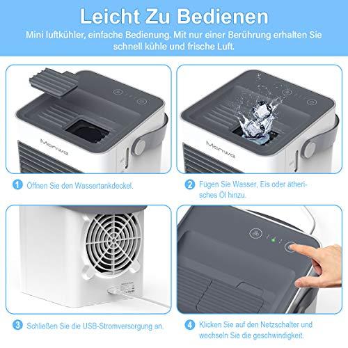 Manwe Mini Luftkühler Erfahrungen & Preisvergleich