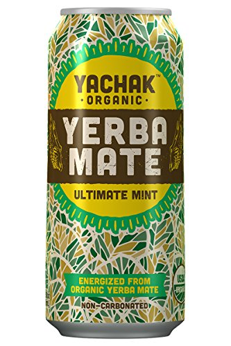 Yachak Yerba Mate Drink, Ultimate Mint, 12 Count