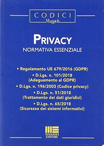 Privacy. Normativa essenziale