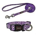 QQPETS Dog Collar and Leash Set Comfortable...