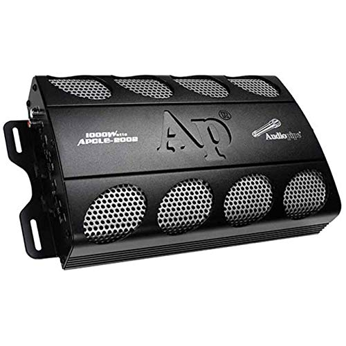 AudioPipe APCLE-2002 2 Channel 1000 Watt Car Audio Speaker Subwoofer Sound System Power Amplifier Amp