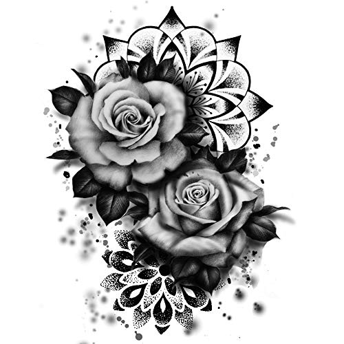 Rosen Tattoos Mandala Tattoo Kleber Party Tattoos km187
