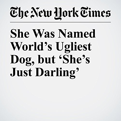 She Was Named World's Ugliest Dog, but 'She's Just Darling' copertina