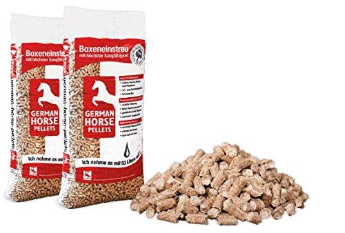 2x 14kg German Horse Pellet in legno, pellet Lettiere Pellet per cavalli, piccoli animali e gatti...
