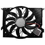 BOXI Brushless Cooling Fan Fits 2007-2009 Mercedes-Benz CL600 CLS63 AMG E320 E63 AMG / 2008-09 Mercedes-Benz CL63 AMG CL65 AMG / 2008-10 MercedesS600 S63 AMG S65 AMG (W211 C216 W221) 850W 2115000493