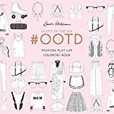 #OOTD: Fashion Flat Lay Coloring Book