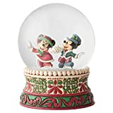 Disney Tradition 6002832 - Mickey & Minnie navidad, bola de nieve
