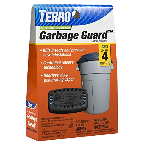 Terro T800 Garbage Guard, Black