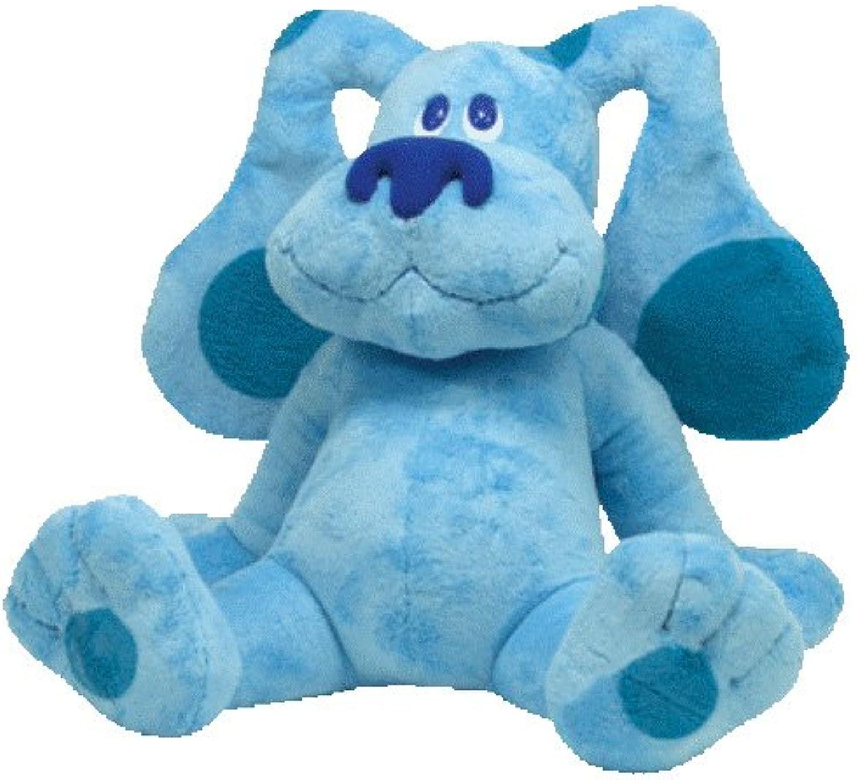 Ty Beanie Buddy bluees Clues 17  Plush