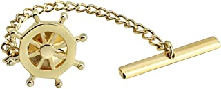HAWSON Men's Tie Pin Interesting Tie Tacks with Chain for Men Necktie Accessory in Several Colors