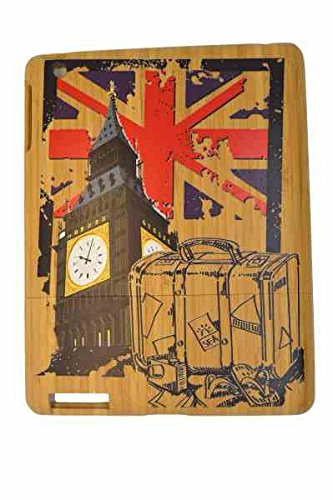 Hot Fashion Eco Friendly Bamboo/Wooden Case/Cover for iPad 2, 3 and 4