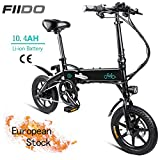 OUXI FIID0 D1 Electric Bike,Folding Electric Bike for Adults 10.4Ah 250W 36V with LCD Screen 14inch Tire...