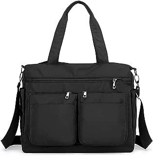 Women's Large Multi Pockets Nylon Tote Crossbody Shoudler Work Bag Handbags