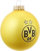 Borussia Dortmund BVB kerstballen zwart geel (set van 4)