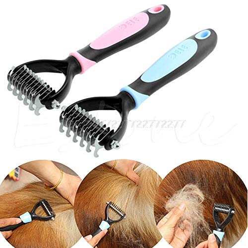 Pet Knots Remover With Best Design, Tera Pet Fur Knot Cutter Remove Rake Grooming Shedding Brush Comb Dog Cat - Knot Cutter, Beadsmith Knot Cutter, Dog Shedding Combs, Shedding Pets