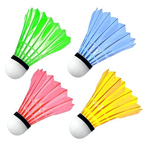 Ohuhu LED Badminton Birdies, Glow in The Dark Night...
