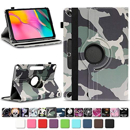 NAmobile Tablet Case compatibel met Samsung Galaxy Tab A 10.1 2019 Case Cover Kunstleer Case Universal Cover 360 Rotating