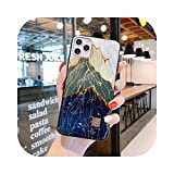 Funda de silicona para iPhone 11 Pro Xs Max SE XR X 6 6S 7 8 Plus con purpurina suave TPU D59-For i7 Plus i8 Plus