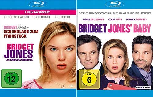 Bridget Jones 3-Filme Collection - Schokolade zum Frühstück + Am Rande des Wahnsinns + Baby