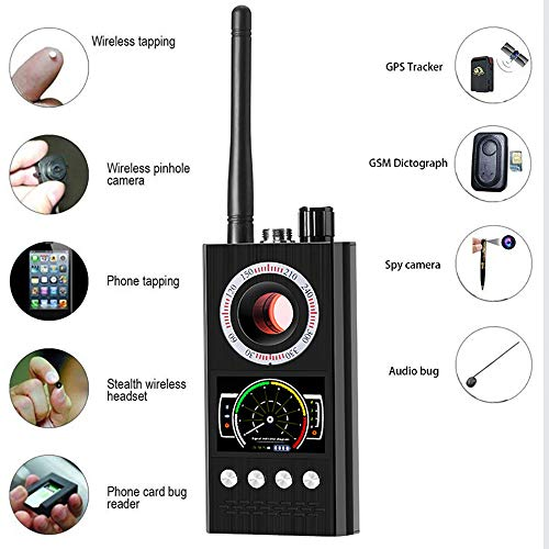 Fantastic Deal! Zhengpin Anti Spy RF Detector, Wireless Bug Detector Signal, Multifunctional Handhel...