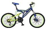 Benotto MDHRUS2021UNAZ Bicicleta de Acero Rodada R20, Niño, 21 Velocidades