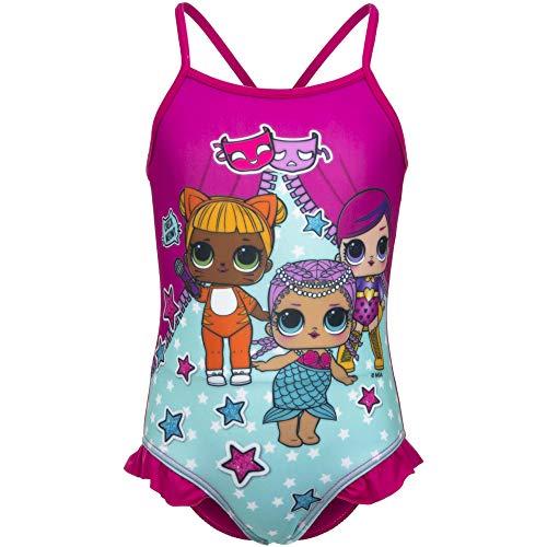 surprise LOL kostuum Intero Volan kleur Fuxia maat 3-4-5-6-8 jaar