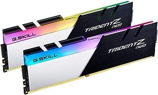 F4-3600C18D-32GTZN [Trident Z Neo 32GB (16GBx2) DDR4 3600MHz (PC4-28800) CL18 1.35V]