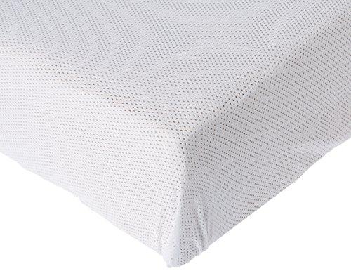 ABZ Duvatex Airgosafe Lenzuolo con angoli, 40 x 80 cm, colore bianco