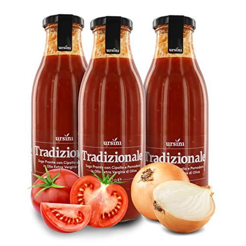 Ursini Salsa de Tomate con Cebolla y AOVE, Salsa Italiana cl